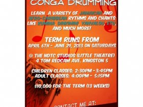 Jesse's Conga Drumming Classes