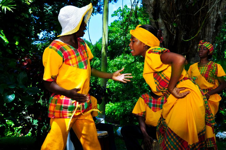 Jamaicans be like im dancing